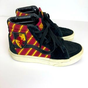 Vans-Harry Potter Hi Top Gryffindor Skate Sneakers